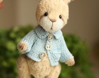 OOAK Handmade teddy Pete. (made to order)