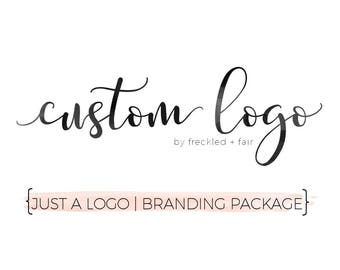 CUSTOM LOGO Design Package, Custom Shop logo, Business Logo, Personalized Logo