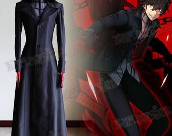 Shin Megami Tensei: Persona 5 Cosplay, Main Character Joker Costume Outfit