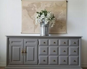 Vintage Dresser/Credenza *Local Pick Up Only