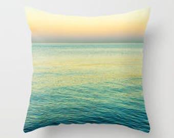 Peaceful Morning on the Water Pillow Cover