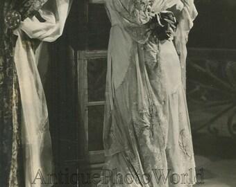 Feraldine Farrar American opera singer as Zaza antique music photo