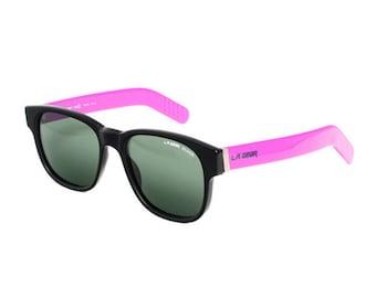 black purple vintage sunglasses - la gear vintage wayfarer sunglasses - urban / street / hiphop / hipster - 80s square sun glasses