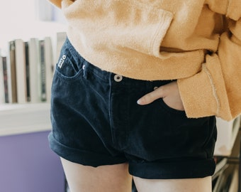 Guess Jeans High Waist Shorts | mom jeans | high waisted shorts | denim shorts | 90s | festival clothing | jean shorts | levis