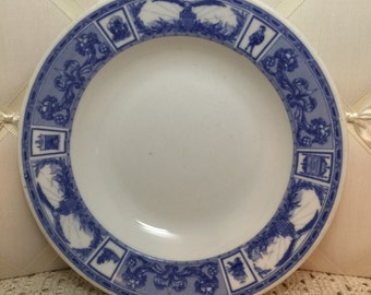 American  Hotels Corporation  bowl by Shammmell China Co. ca 1930's
