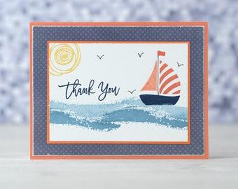 Sailboat Thank You