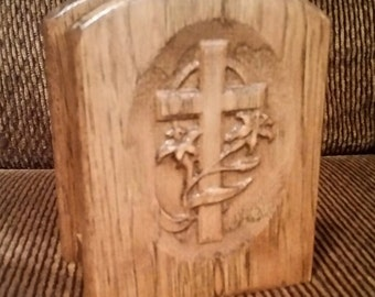 Easter Cross Napkin Holder
