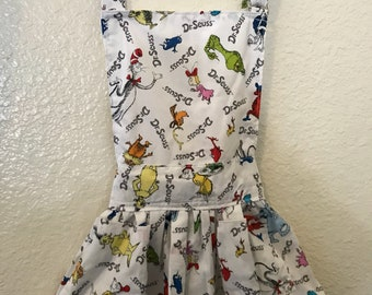 Dr Seuss kids apron!