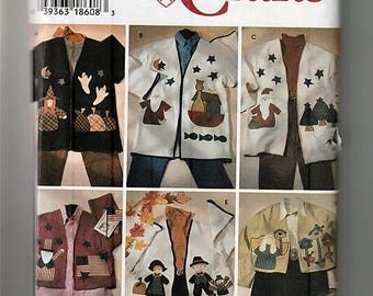 Misses Appliqued Jacket in two Lengths / Original Simplicity Uncut Sewing Pattern 7032