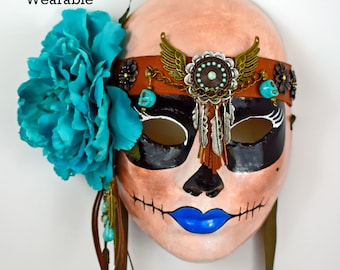 day of the dead masks unique gifts masks roses gifts