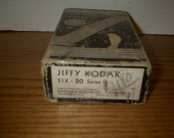 Antique Jiffy Kodak Folding Camera