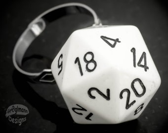 Ring - D20 Dice Adjustable