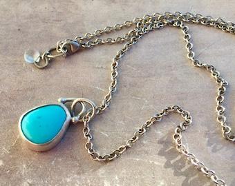 Sleeping Beauty Turquoise Necklace