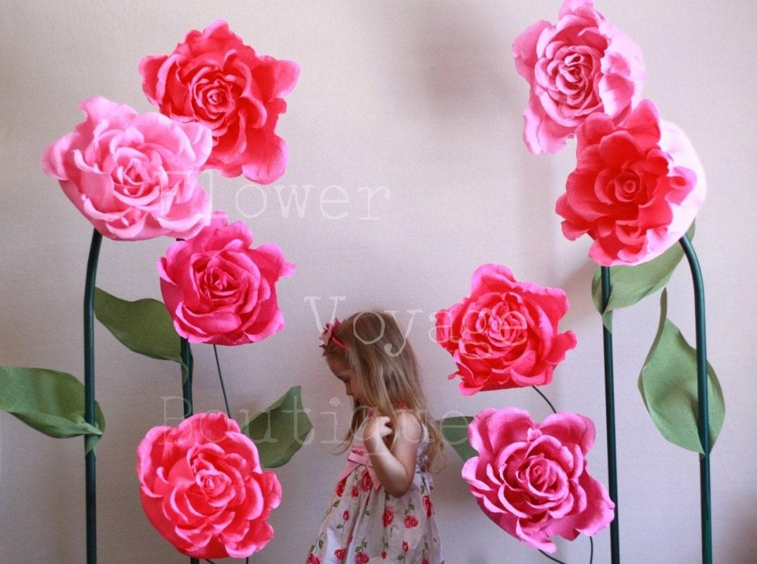 Huge Paper Flower Geccetackletarts