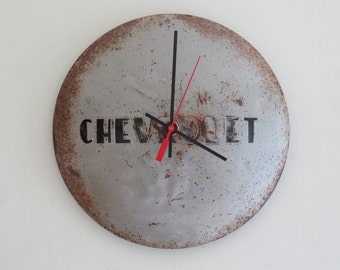 1953 Chevy Truck Hubcap Clock - Item 2618