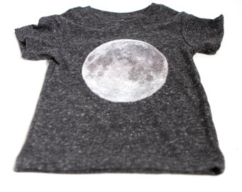 baby MOON t-shirt infant child ORGANIC t-shirt