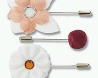 Nostalgiques - Attic Collection - Floral Pins