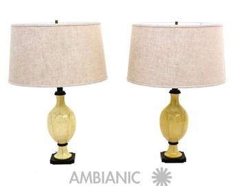 Christian Fersen Table Lamps, Hollywood Regency Era