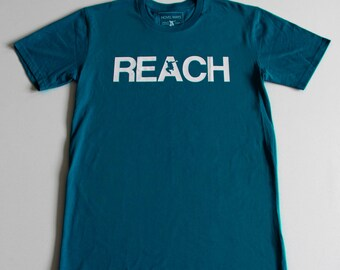 The REACH / ESCAPE Parkour T-Shirt - Teal
