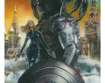 Sebastian Stan as Bucky Barnes - The Winter Soldier **A3 only**