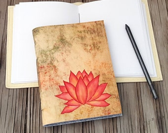Lotus Journal - inspire yoga meditation journal - tremundo