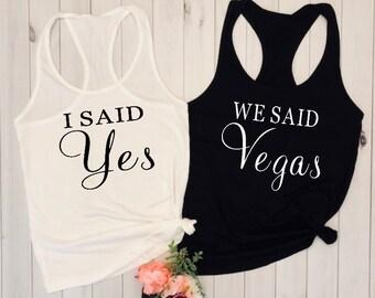 Rose gold Vegas tank/bachelorette party/future Mrs shirt/wedding shirt/bridal shower gift/engagement shirt/vegas bachelorette tank/bridal pa