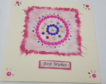 Greeting Card best wishes congratulations new home