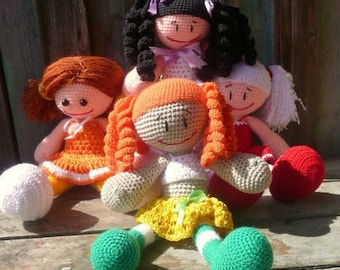 Knitted Dolls