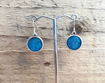 Handmade and Painted Charm Earrings