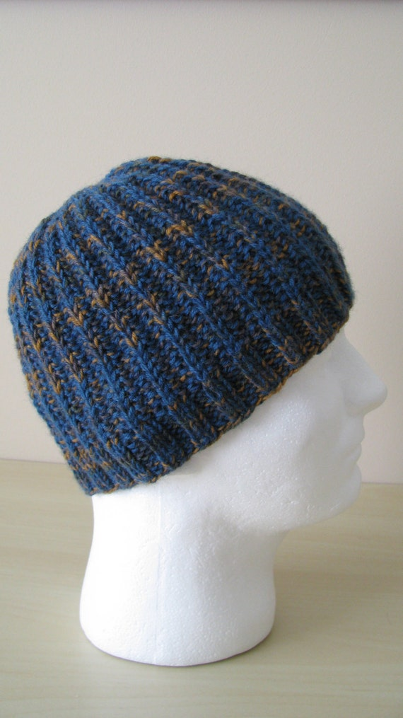 Men\'s Hat Pattern \'Ethan\' Men\'s Knitted Hat