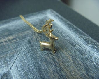 Necklace little deer color gold (also available in silver)