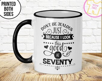 70th Mug 70th Birthday Mug 70th Gift Idea 70th Birthday Gift 1947 Birthday Mug 70th Birthday Idea 70 years old Funny 70th Gift Mug