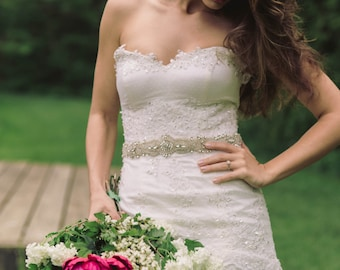 Bridal sash - Style R48
