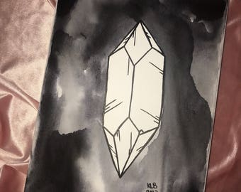 Crystal painting