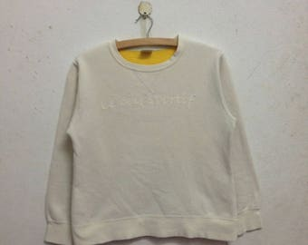 Vintage 90's Le Coq Sportif Women Sweatshirts Size L