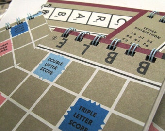 Scrabble board notepad - large