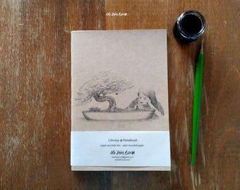 Cuaderno de notas - Ilustración de Fantasía - Bonsai