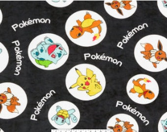 PILLOW BED COVER Made to Order- Pokemon