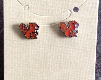 Castor earrings Silver Coloured