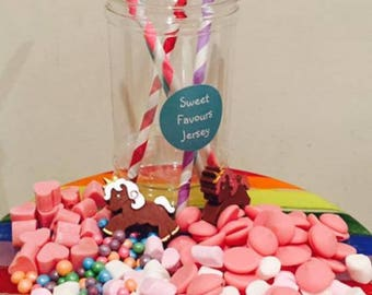 Unicorn Belgian Chocolate Treat Jar