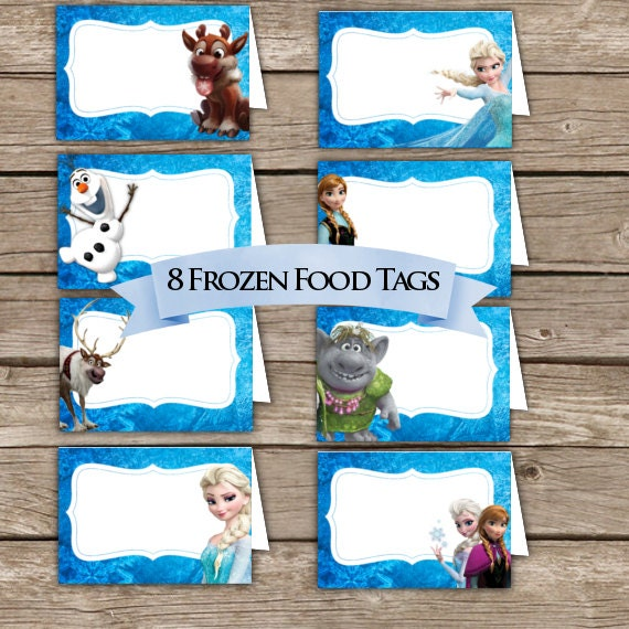 Exhilarating image throughout frozen printable food labels