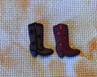 Cowboy Boots Needle Minder