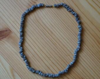 Petoskey Bead Necklace