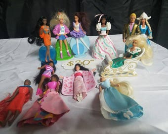 McDonalds Barbie toys