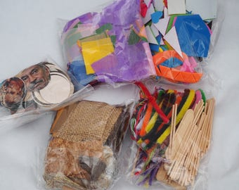 Art Parts Collage Box Refill