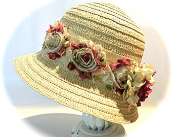 Girl's Cloche Hat Girl's Accessories Easter Hats Spring Hats GH-140