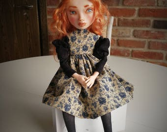Doll Victoria, handmade doll, ooak doll, art doll, human figure, ooak art