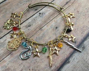 Stitch Marker Bracelet - Harry Potter
