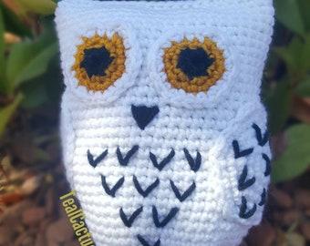 "Crochet Snow Owl ""Hedwig"""