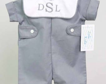 Baby Boy Clothes   Baby Easter Outfit   Baby Boy Romper   Baby Romper Boy   Baby Personalized Gifts   Baby Bubble Romper 292602G